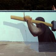 Bor, Izveden mural